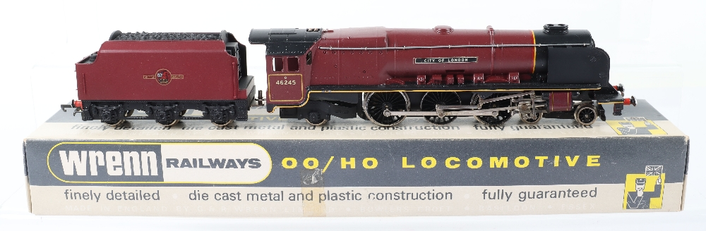A Wrenn 00 Gauge W2226 'City of London' City Locomotive and Tender - Image 2 of 3