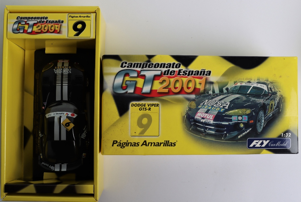 Four Boxed Fly Car Model Slot Cars, - Image 2 of 5