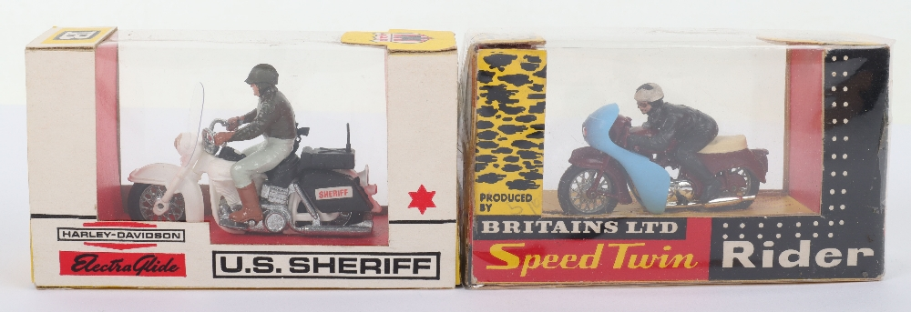 Two Britains Ltd Boxed Motorcycle Models - Image 2 of 3