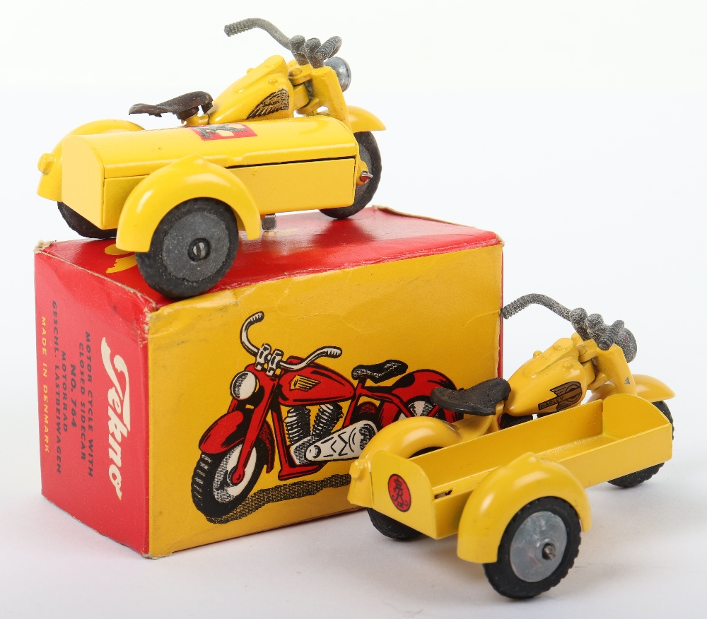 Two Tekno Harley Davidson Motorcycle Models - Image 2 of 2