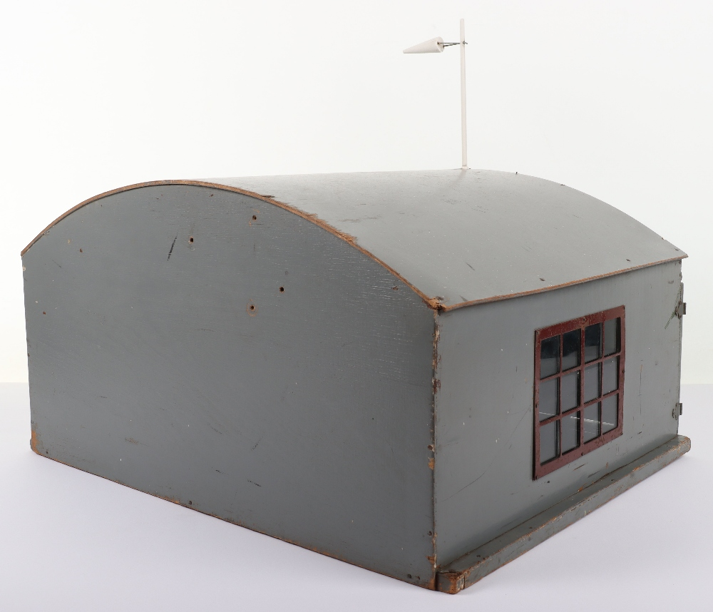 Rare Lines Brothers Model Aeroplane Hangar, - Image 7 of 10