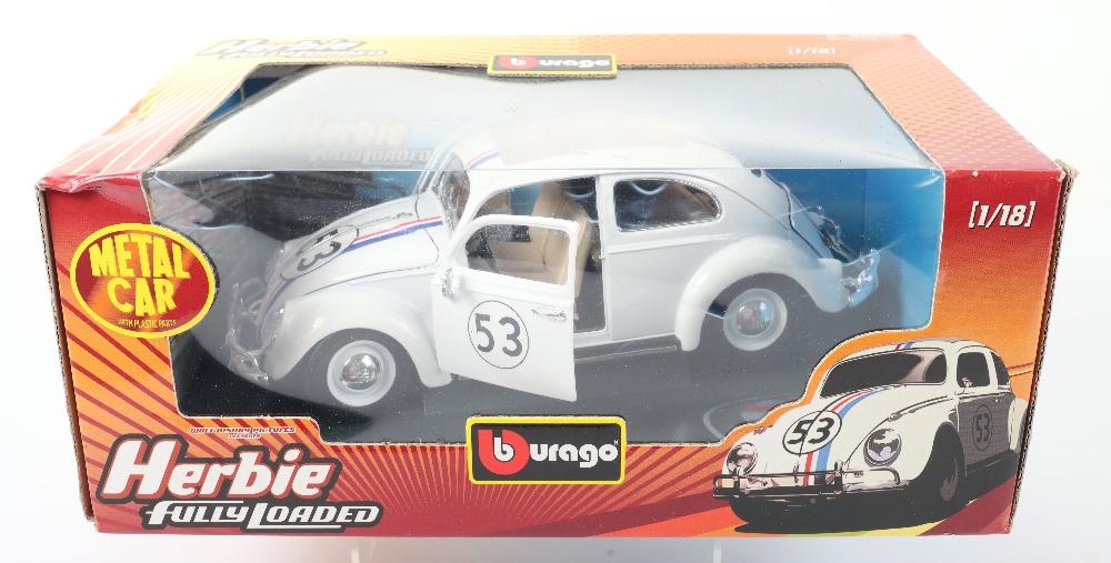 Burago Herbie Fully Loaded Volkswagen Beetle