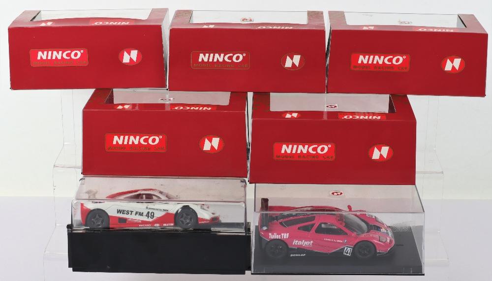 Six Boxed Ninco Slot Cars, - Image 2 of 3