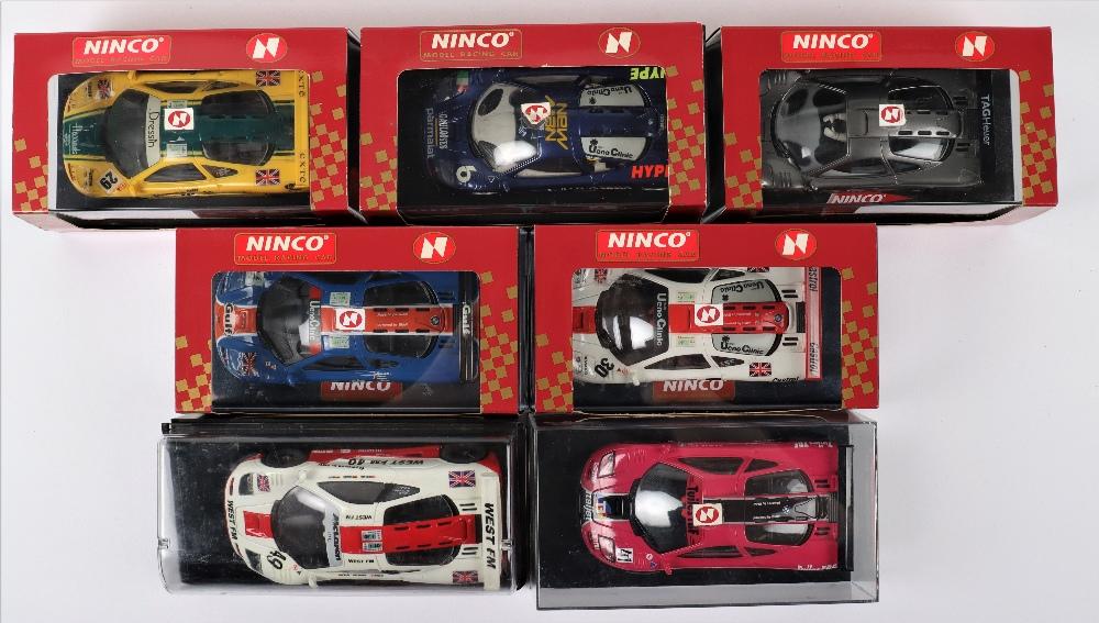 Six Boxed Ninco Slot Cars, - Image 3 of 3
