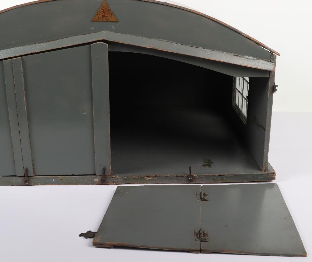 Rare Lines Brothers Model Aeroplane Hangar, - Image 9 of 10