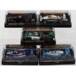 Five Boxed Scalextric Formula 1 Racing Cars Slot Cars