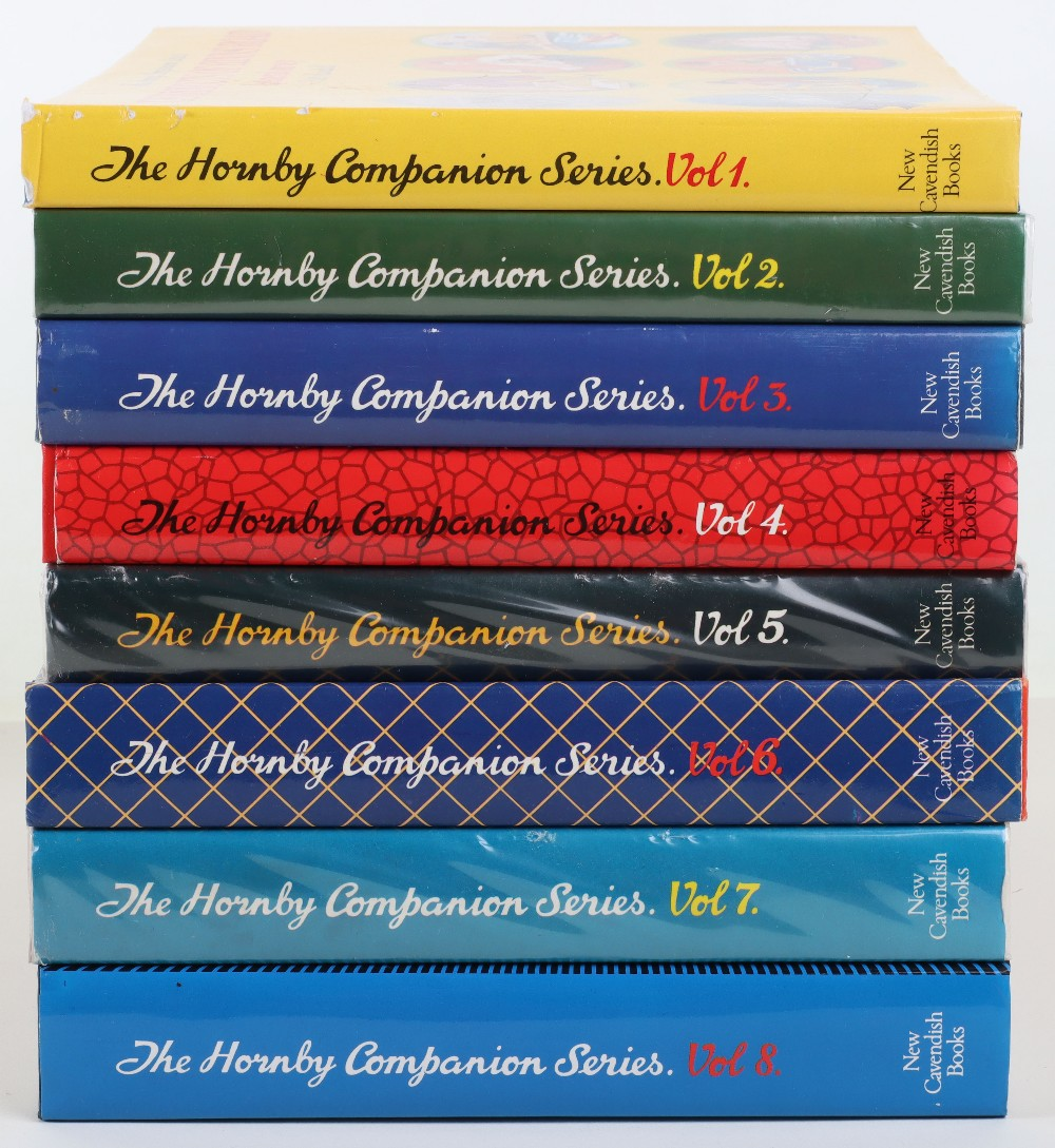 Eight Hornby Companion Series reference books by New Cavendish Books