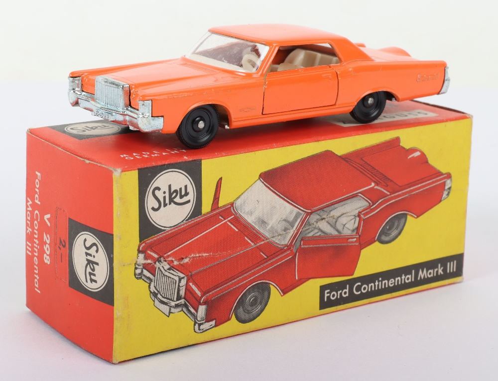 Siku (Germany) V 298 Ford Continental Mark III