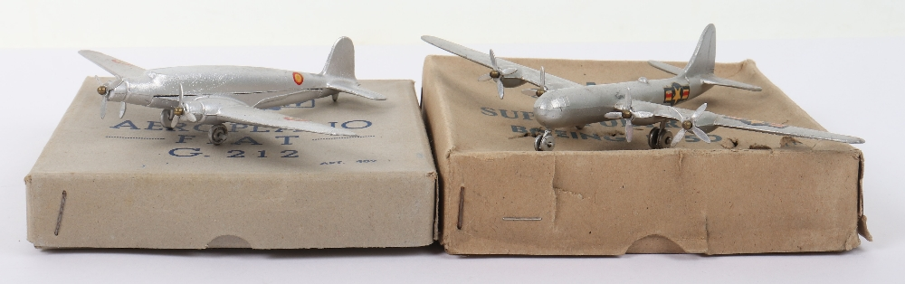 Two Boxed Mercury (Italy) Diecast Aircraft Models