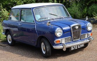 1964 Wolseley Hornet, fitted with 998cc engine,