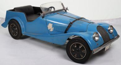 A Hamilton Brooks & Co of Hereford moulded fibreglass Morgan child's sports pedal car, English circa