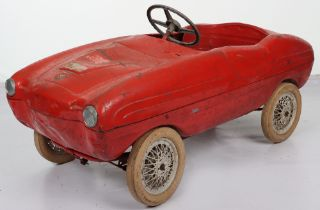A rare Giordani Sports child's pedal car, Italian 1950s