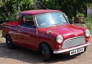 1979 Austin Mini Pickup, fitted with 1275 engine