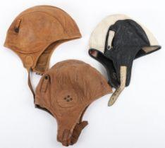 American Leather Aviators Flight Helmet
