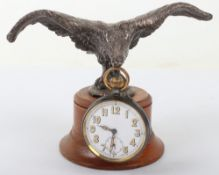 Early 20th Century Eagle in Flight Pocket Watch Stand