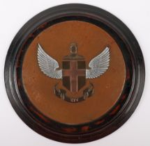 Great War Period Royal Flying Corps No14 Squadron Plaque