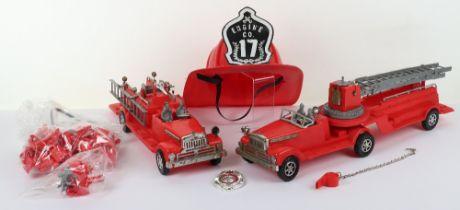 De-Luxe (USA) Junior Fire Chief Set,