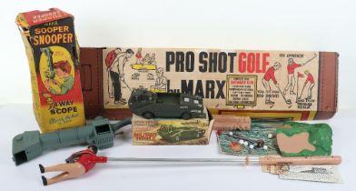Three Boxed Marx Toys