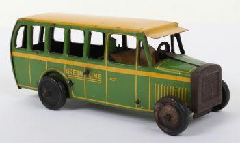 A Burnett (England) Greenline Tinplate coach,