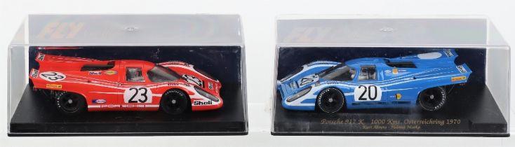 Two Fly Car Model Slot Cars Porsche 917K Le Mans
