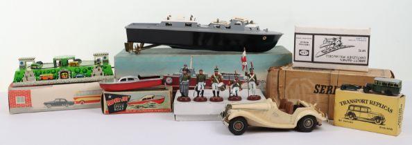 Boxed Victory Models battery operated Vosper RAF crash tender