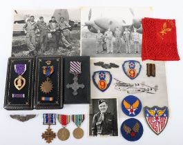 An Interesting Group of Medals & Uniform, Including a British Distinguished Flying Cross (D.F.C), At