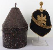 Rare Victorian Isle of Wight Artillery Militia Officers Home Service Helmet 1878-1891