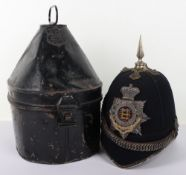 Victorian 1st Leicestershire Volunteer Battalion Officers Home Service Helmet