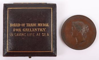 Board of Trade Medal for Gallantry in Saving Life at Sea for British Steamship Serpho