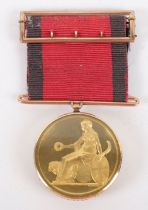 The Field Officers Gold Medal for Corunna 1809 Awarded to Major William Williams 81st Regiment of Fo