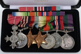 The Extremely Rare and Possibly Unique WW2 MBE (Military) and Dunkirk Evacuation Military Medal (M.M