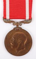 George V Sea Gallantry Meal Awarded for Rescue Mission of the Liner Delhi Which Sunk December 1911