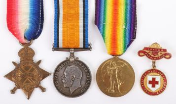 Great War Voluntary Aid Detachment (V.A.D) Medal Group of Three