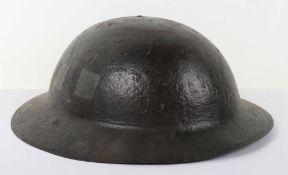 WW1 Regimentally Marked Steel Combat Helmet Shell