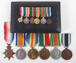 An Intriguing Group of Six Medals Attributed to a Member of the Mercantile Marine Who Felt the Need