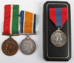 Medal Groups to the Flower & Eckett Family