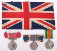 British Empire Medal (B.E.M) Group of Three, Forewoman of the Royal Aircraft Establishment Farnborou
