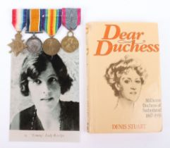 The Rare Great War Group of Medals Awarded to Vera, Countess of Rosslyn, Who Served in the Duchess o