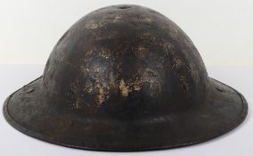 * WW1 British Brodie Steel Combat Helmet