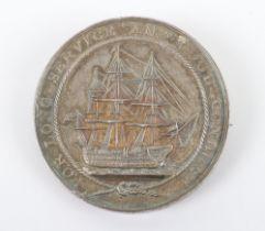 Victorian Naval Long Service Good Conduct Medal HMS Dart