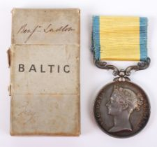 Victorian Baltic 1854-55 Medal