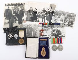 An Interesting Medal Group of Five Awarded to a Resident of Jersey Who Served as a VAD Nurse During