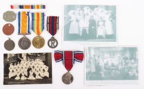 Great War Queen Alexandra's Imperial Military Nursing Service Reserve in Mesopotamia Medal Group of