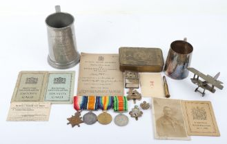 1914-15 Star Trio & WW2 Defence Medal Royal Berkshire Regiment