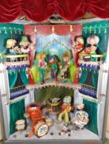 A large Pelham Puppet electric driven Shop display animated unit, early 1970s,