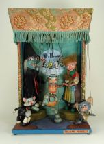 A Pelham Puppets electrically operated shop window display, circa 1970,