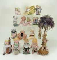 Collection of Schafer & Vater and other bisque figurines,