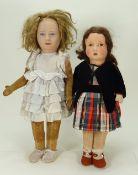 Chad Valley Princess Margaret Rose cloth doll, 1938,