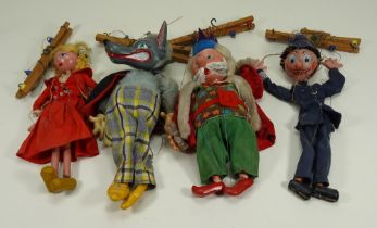 Collection of Pelham Puppets,