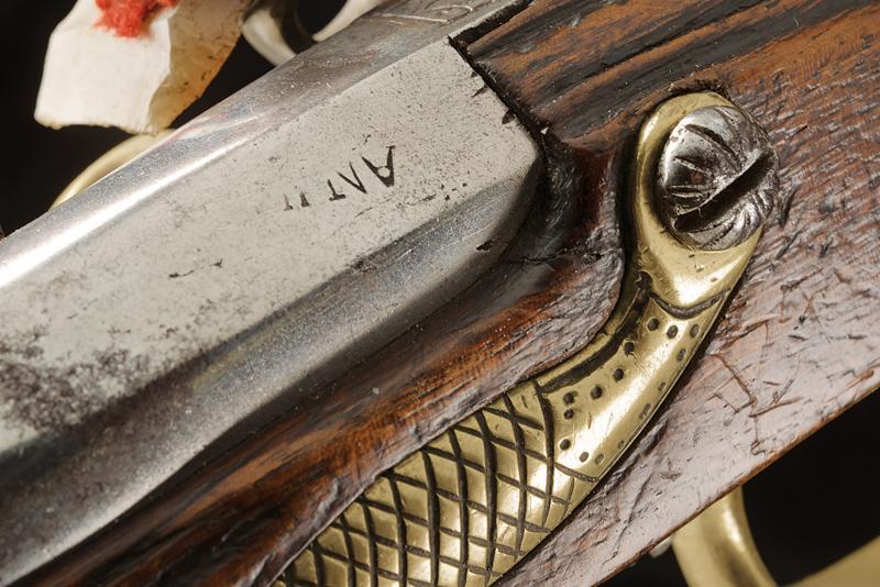 An AN IX flintlock pistol - Image 5 of 9